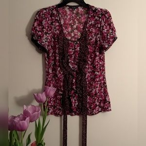 ⭐️3 for 20⭐ Maurices Floral Blouse